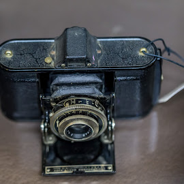 Old Camera by Liam Douglas - Digital Art Things ( film, full frame, 35mm, camera, capture, painting, light )