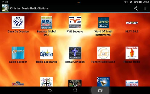 Christian Music Radio Stations - screenshot