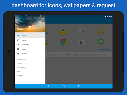 Vibion - Icon Pack Screenshot