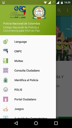 Código Nacional de Policía y Convivencia screenshot 3
