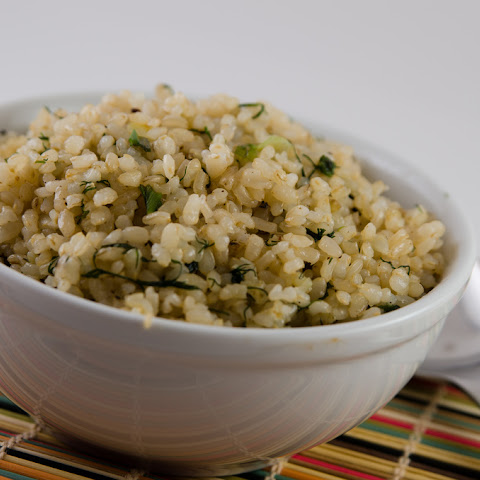 Dill Brown Rice