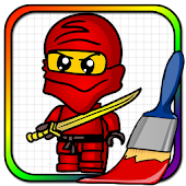 App Ninjego Coloring Book APK for Windows Phone