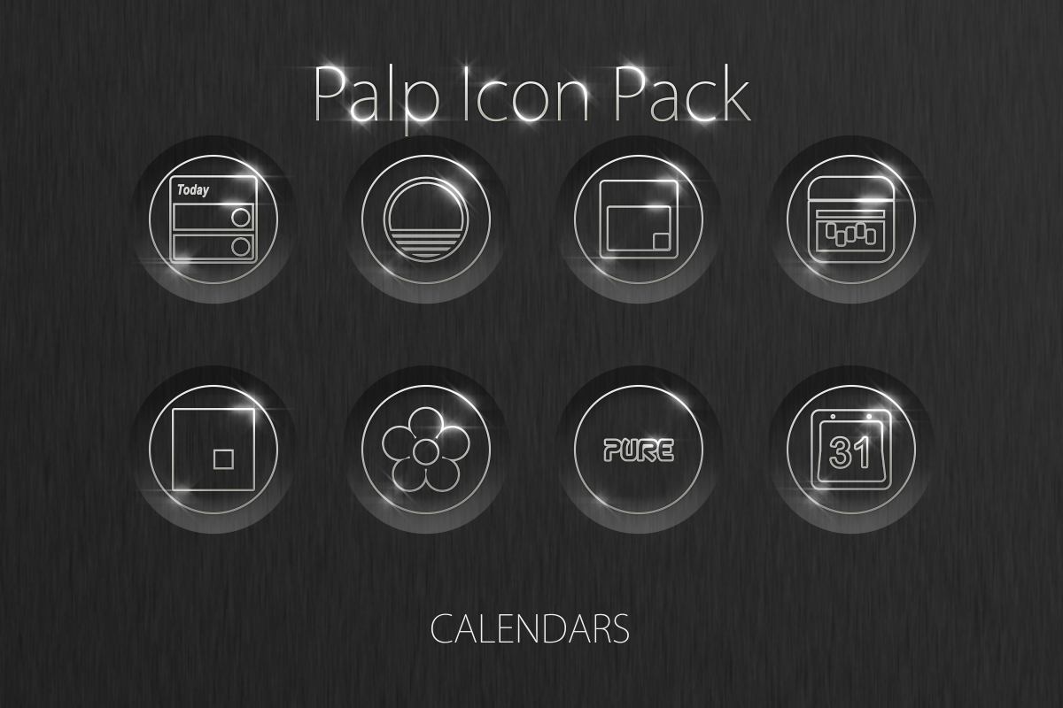 Palp Icon Pack Screenshot 5