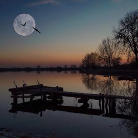 Sutton on the lake by Dunja Milosic Odobasic - Digital Art Places