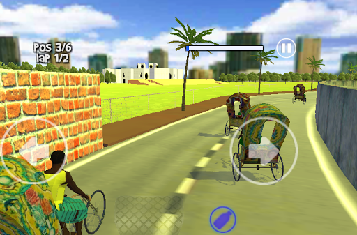 Rickshaw Racing - screenshot
