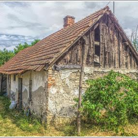 a múlt része by Zlatko Sarcevic - Buildings & Architecture Decaying & Abandoned ( feledés, öreg, elmúlás, romos, ház,  )