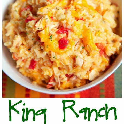 King Ranch Chicken and Rice Bake