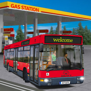 Gas Station Bus Driving Simulator 🚌