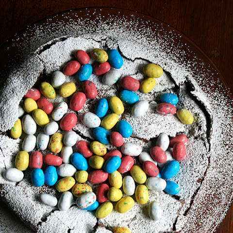 Flourless Chocolate Cake | Nigella Lawson's Easter Egg Nest Cake