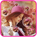 Bubble Photo Live Wallpaper APK for Bluestacks