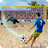 Shoot Goal - Beach Soccer Icon