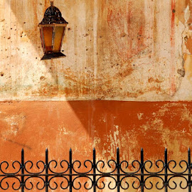 Corfu Colours by Dick Mulder - City,  Street & Park  Historic Districts ( church, greece, corfu, lines, colours )