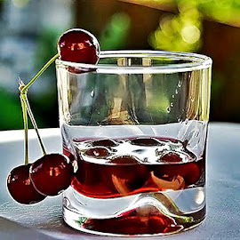 Cherry liqueur by Alka Smile - Food & Drink Alcohol & Drinks (  )