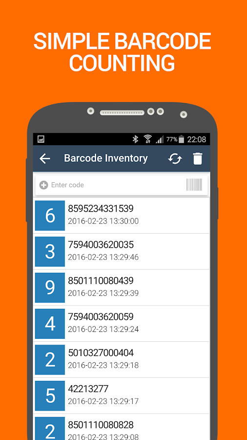 Barcode Inventory Counter Pro Screenshot 2