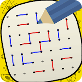 Dots and Boxes - Squares Icon