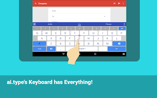 Screenshot of ai.type keyboard Free + Emoji