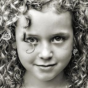 Beautiful by Sandy Considine - Babies & Children Children Candids ( black and white )