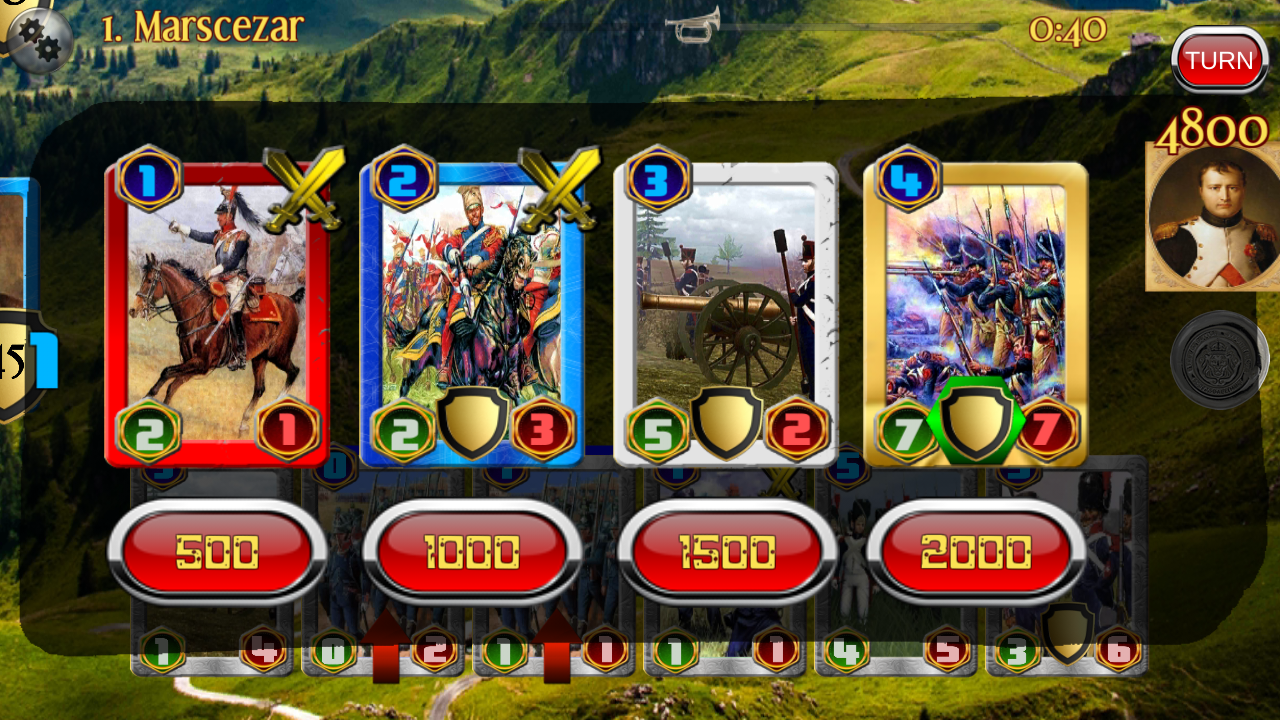Napoleon War Cards Screenshot 4