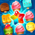 Ice Cream Mania:Match 3 Puzzle