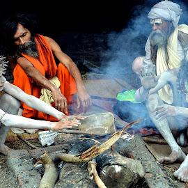 The Blessing by Arnab Dasgupta - People Street & Candids