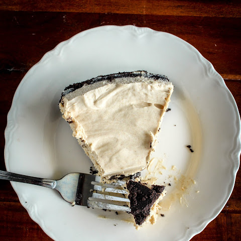 Peanut Butter Pie with Oreo Crust