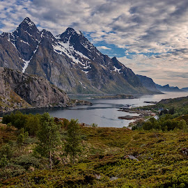 Lofoten islands by Kennet Brandt - Landscapes Mountains & Hills