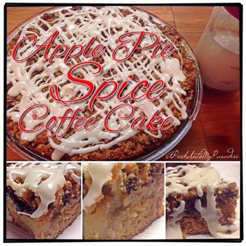 Apple Pie Spice Coffee Cake