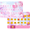 Pink Butterfly iKeyboard Theme APK for Lenovo