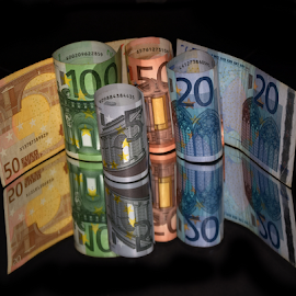 paper money by LADOCKi Elvira - Artistic Objects Other Objects ( money )
