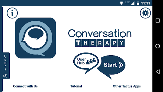 Conversation Therapy screenshot for Android