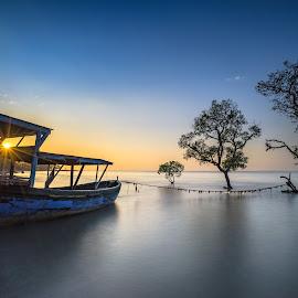 Hidden Spot by Eni Satriani - Transportation Boats ( ship )
