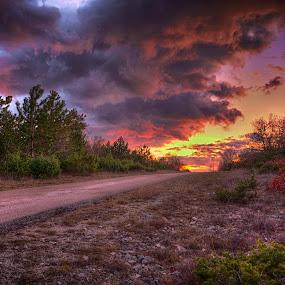 Sunset  by Luka Milevoj - Landscapes Sunsets & Sunrises ( su,  )