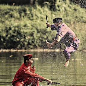 Duel Image (2) by Lucky E. Santoso - People Portraits of Men