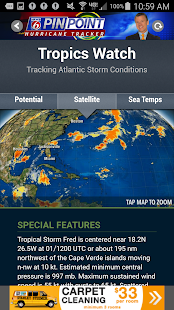 News 6 Hurricane Tracker - screenshot
