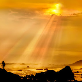 Silhouette by Welly Agus - Landscapes Waterscapes