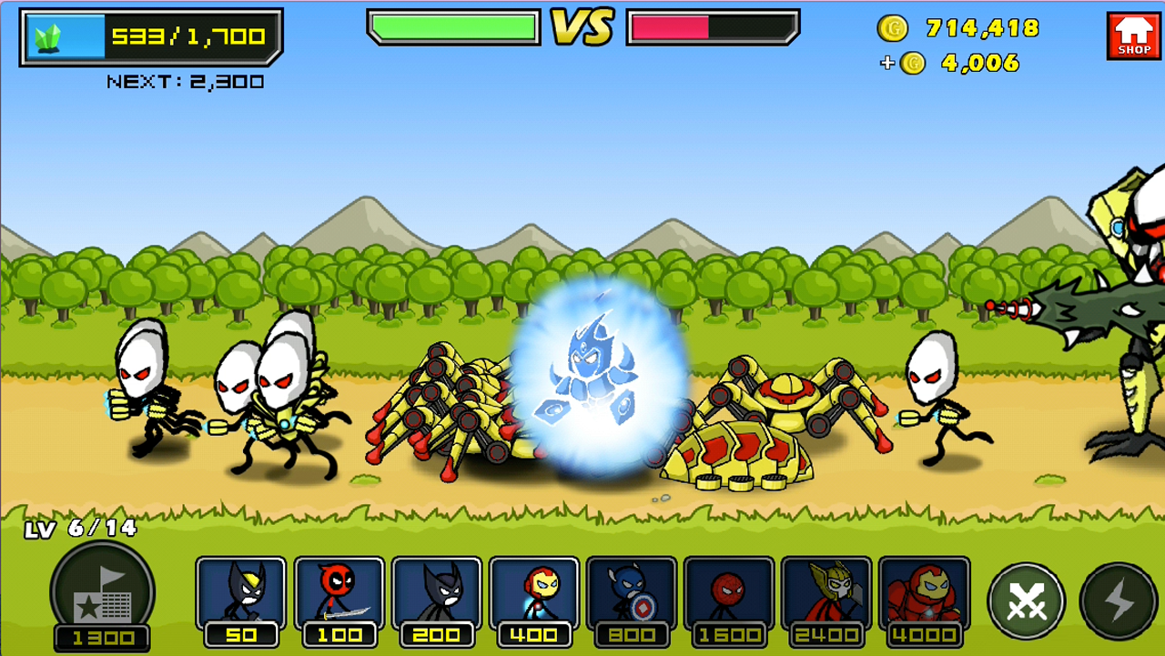HERO WARS: Super Stickman Verteidigung android spiele download
