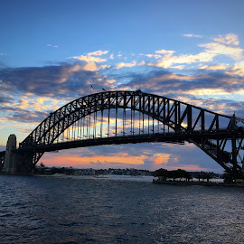 Sydney Harbour Sunset by Angela Taya - Novices Only Objects & Still Life