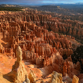 Inspiration Point by Jeff Fahrenbruch - Landscapes Mountains & Hills ( bryce canyon national park inspiration point, national park, bryce canyon national park, utah )