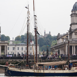 Boat at Greenwich by Andrew Moore - City,  Street & Park  Vistas