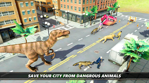 Dinosaur Simulation 2017- Dino City Hunting For PC