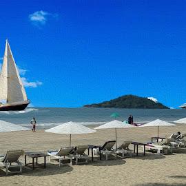 Beach by Jaysinh Parmar - Digital Art Places