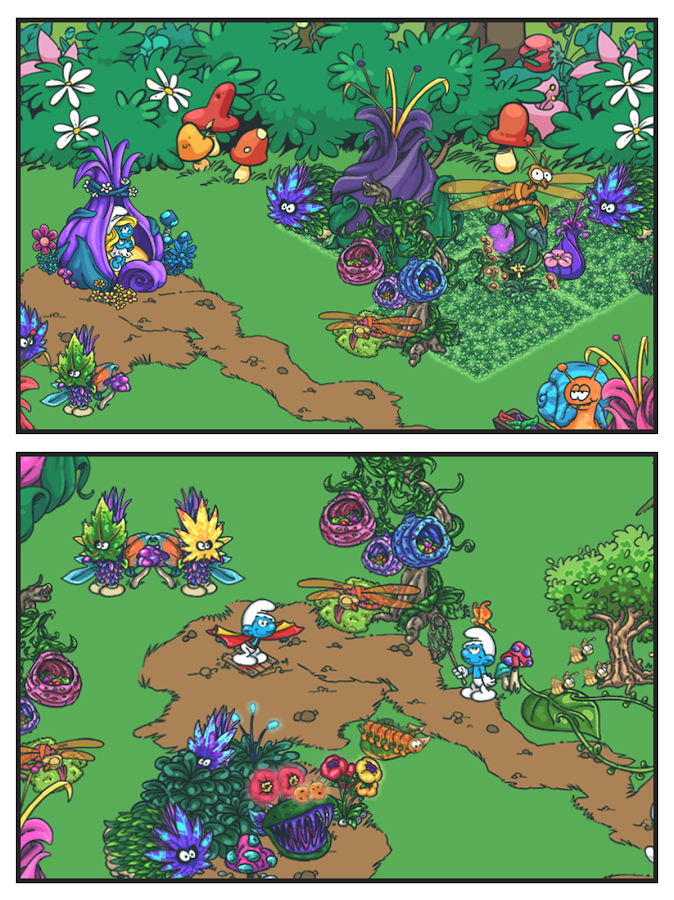Smurfs' Village Screenshot 10
