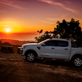2014 Ford Ranger by Ferdinand Ludo - Transportation Automobiles ( summer months, sunset, ford ranger 2015, wildtrack series, 4x2 at, balamban area )