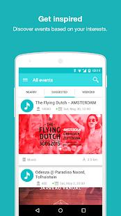 Craze - personalized event app