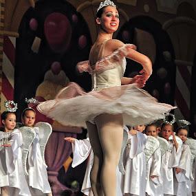 Ballerina Wannabes by Don Chamblee - Babies & Children Children Candids ( nutcracker, children, ballet, ballerina, stage )