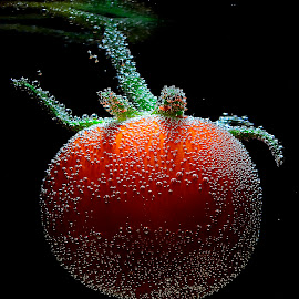 nucturnal tomato by Angelo Jadulco - Food & Drink Fruits & Vegetables ( guevarra, pilipino, fruit, red, tomato, ainjel, angelo jadulco, pinoy, philippines )