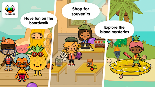 Toca Life: Vacation screenshot 9