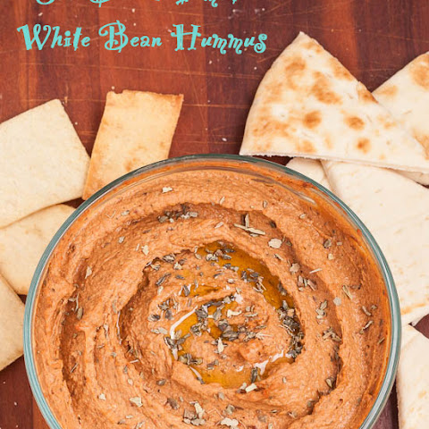 Sun Dried Tomato White Bean Hummus