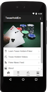 How To Play Texas Holdem Poker - screenshot