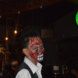 Z1 by Shane Cassidy - People Portraits of Men ( holloween, bali, zombie, blood, horror, entertainment )